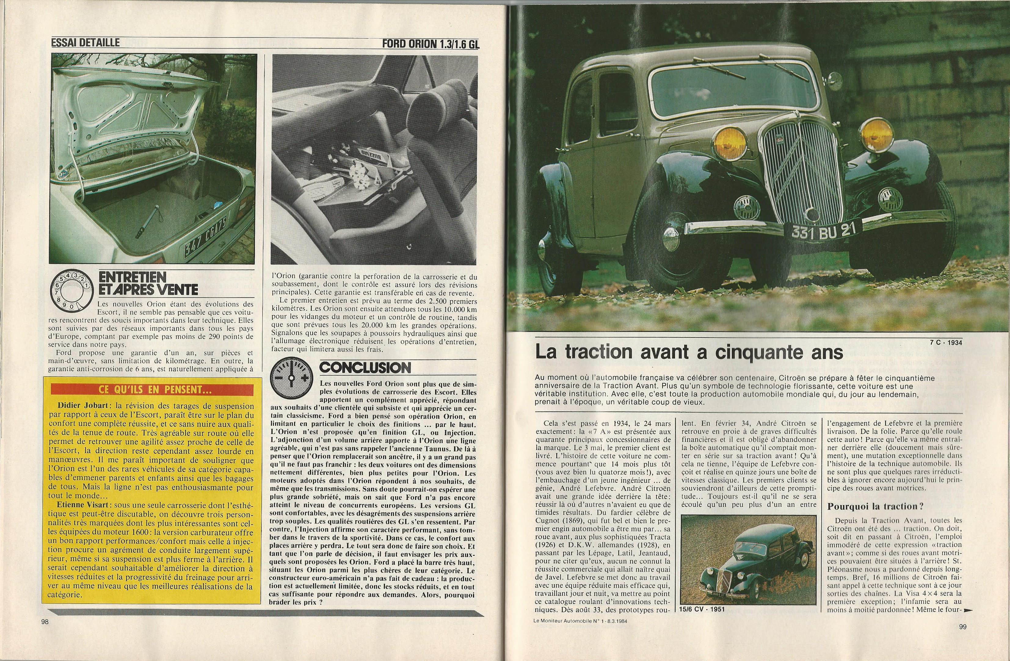 Moniteur Automobile 01 - 08 Mars 1984 (41)