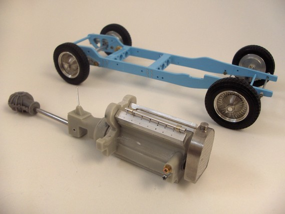 chassis + engine