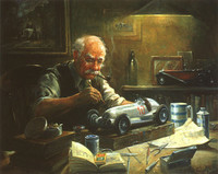 The-Model-Maker-Alan Fearnley