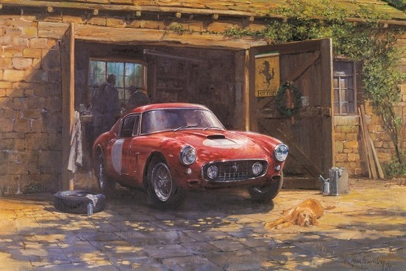 Alan Fearnley Ferrari