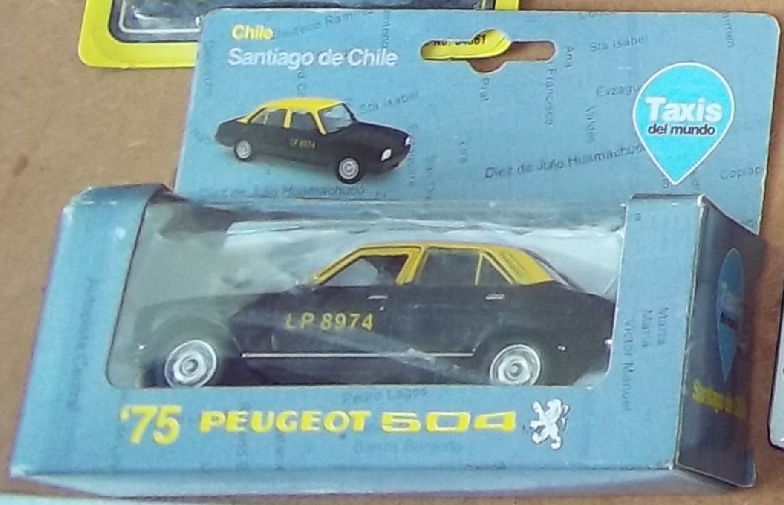 taxi chilien 504