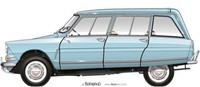 1968-CITROEN-AMI-6-Break-Club-1-ikonoto-blueprint-customized