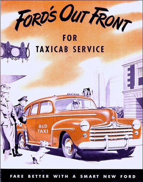 Ford taxi US 47