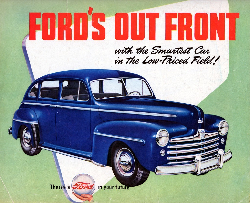 Ford Fordor DeLuxe 47