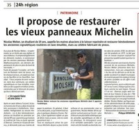 Article journal L'Alsace
