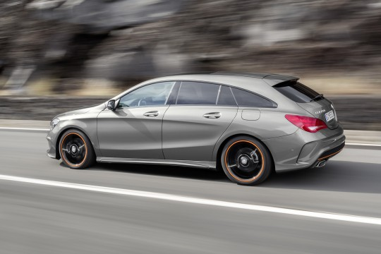 Nouvelle CLA Shooting Brake