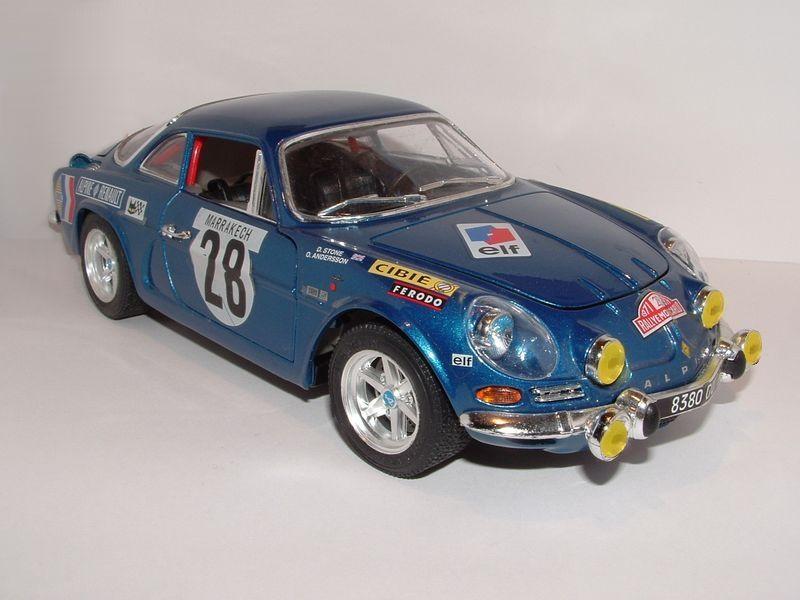 alpine a110 rallye monte carlo 1971 mes 1 18 midlum photos club. Black Bedroom Furniture Sets. Home Design Ideas