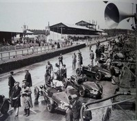 1935 Le Mans- Team of Works and Semi privateer Aston Martin Ulsters