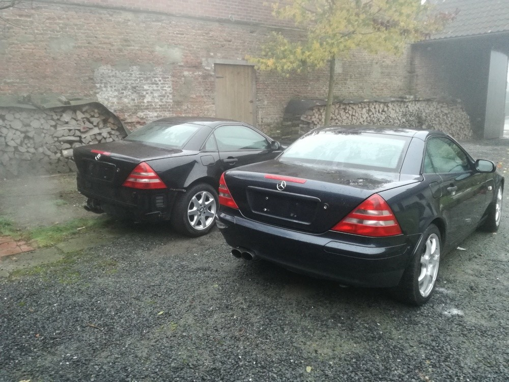 mes 2 mercedes slk r170 slk slc mercedes forum marques. Black Bedroom Furniture Sets. Home Design Ideas