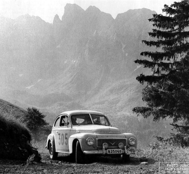 1958 Coupe des Alpes Volvo PV 544 Gunnar Andersson