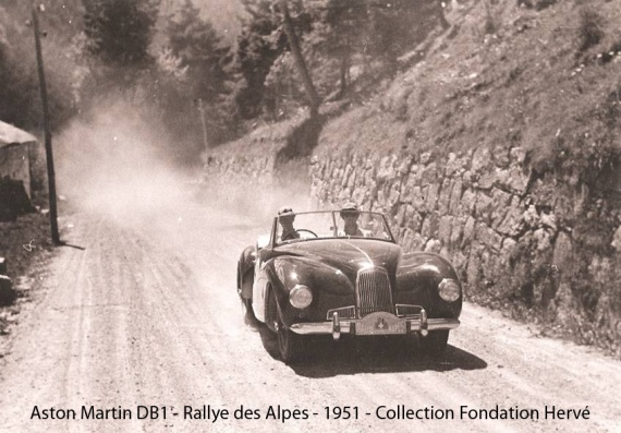 1951 Rallye des Alpes astonmartinDB1