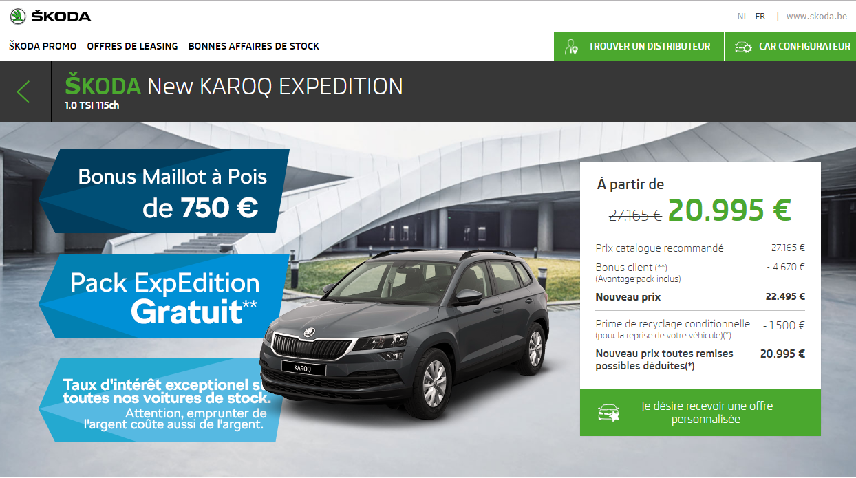 Skoda Karoq Expedition