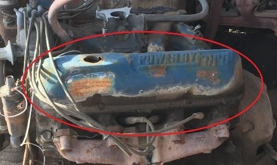 Ford big block valve cover POWER BY FORD