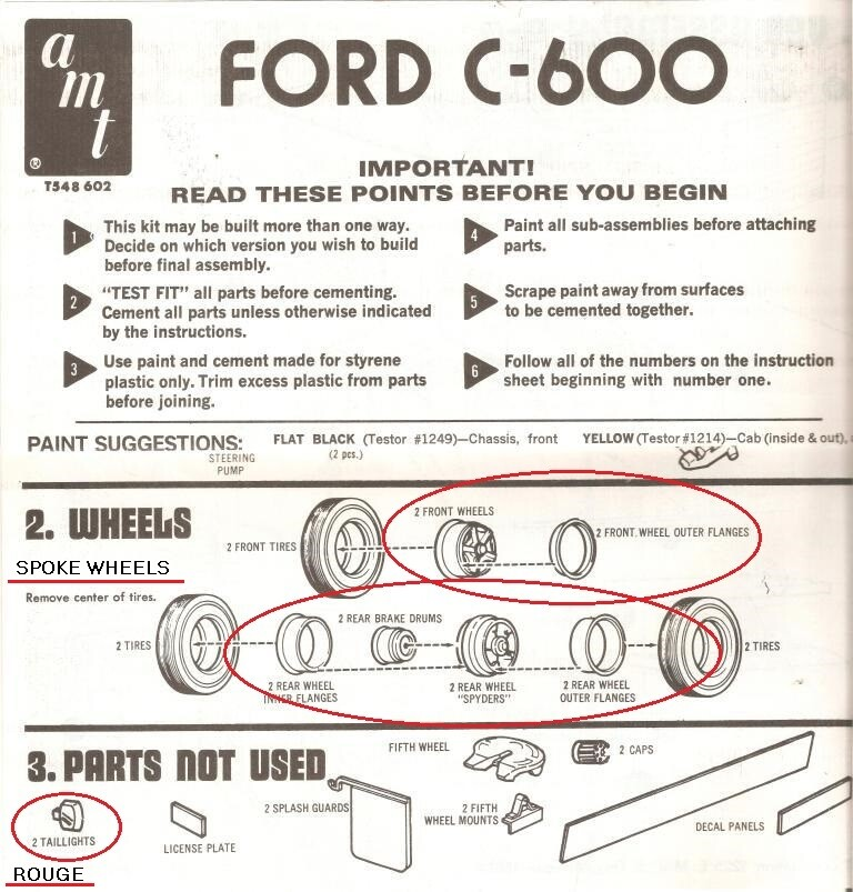 Ford C600 - AMT