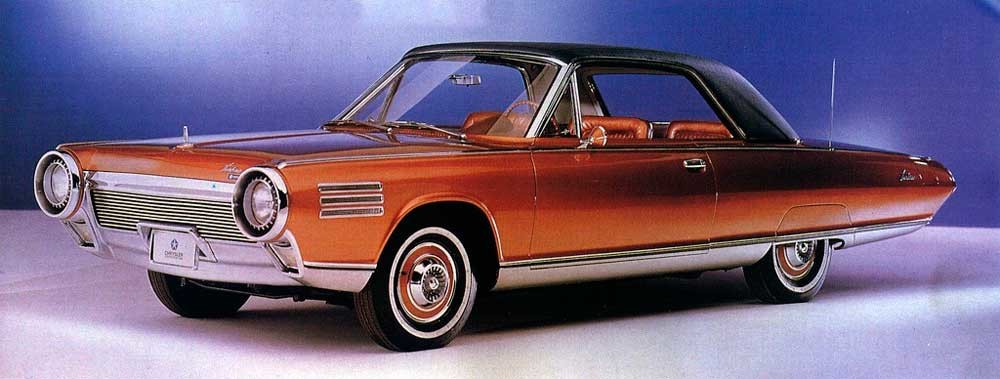 Brochure de la Chrysler Typhoon en 1963