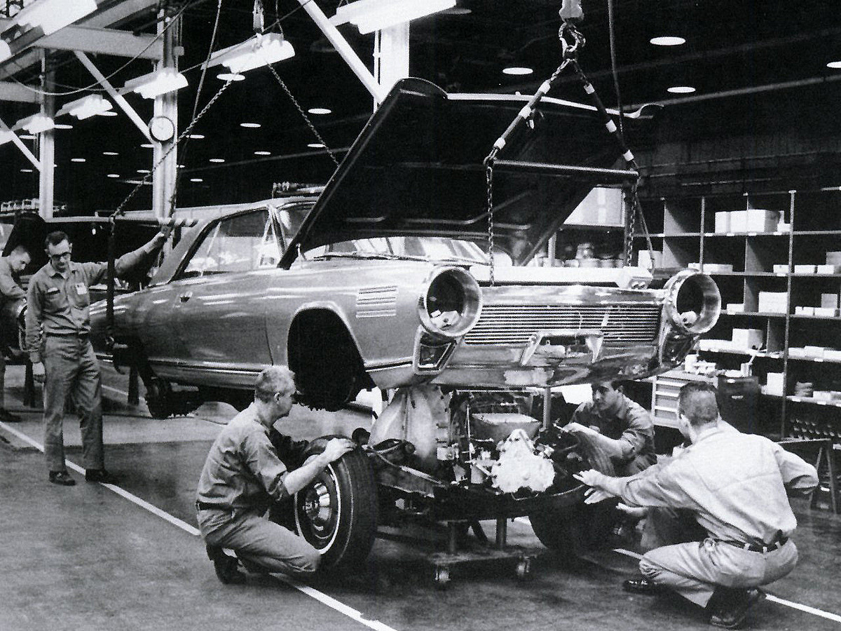 Chrysler Typhoon en cours de construction