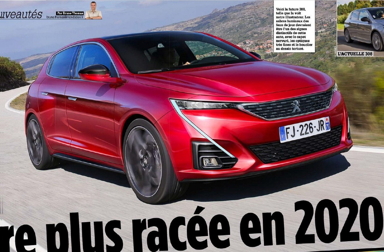 Peugeot 2008 2019 >> Peugeot 308 III (2020) [Topic Officiel] - 308 - Peugeot - FORUM Marques