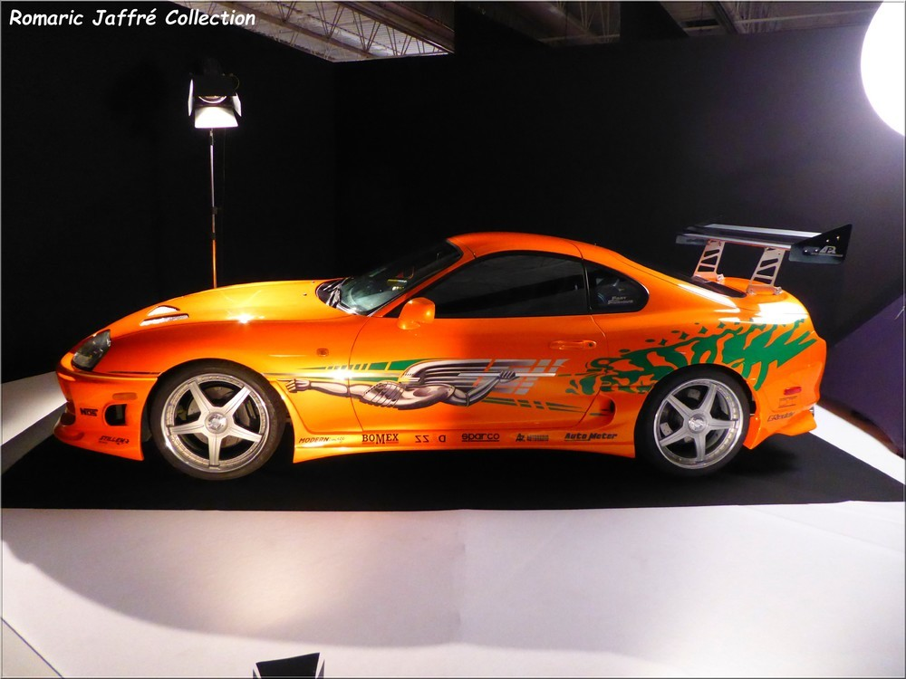 Toyota Supra Tuning (film - Fast and Furious 2001)