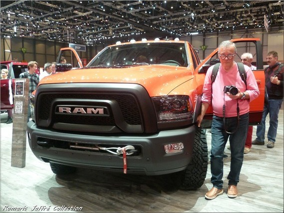 Mon papa et le Dodge RAM 2500 Power Wagon 6.4L HEMI Heavy Duty
