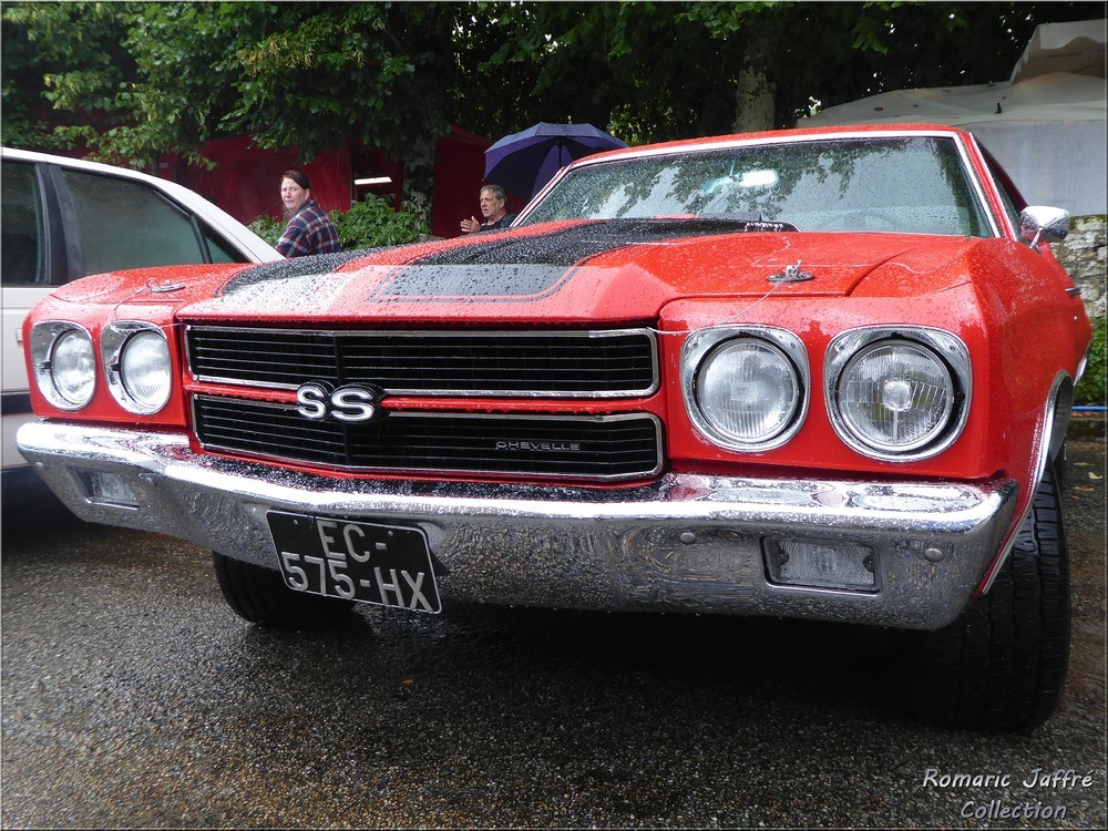 Chevrolet Chevelle SS 454 Cowl Induction