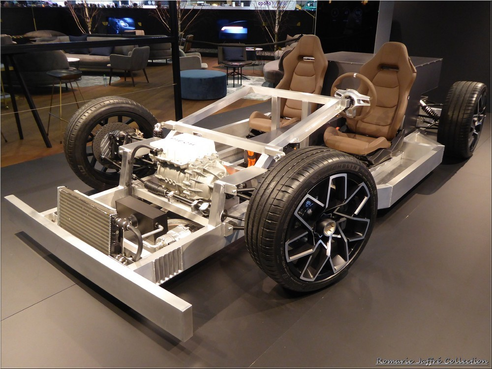 Piëch Mark Zero Prototype ''rolling chassis''