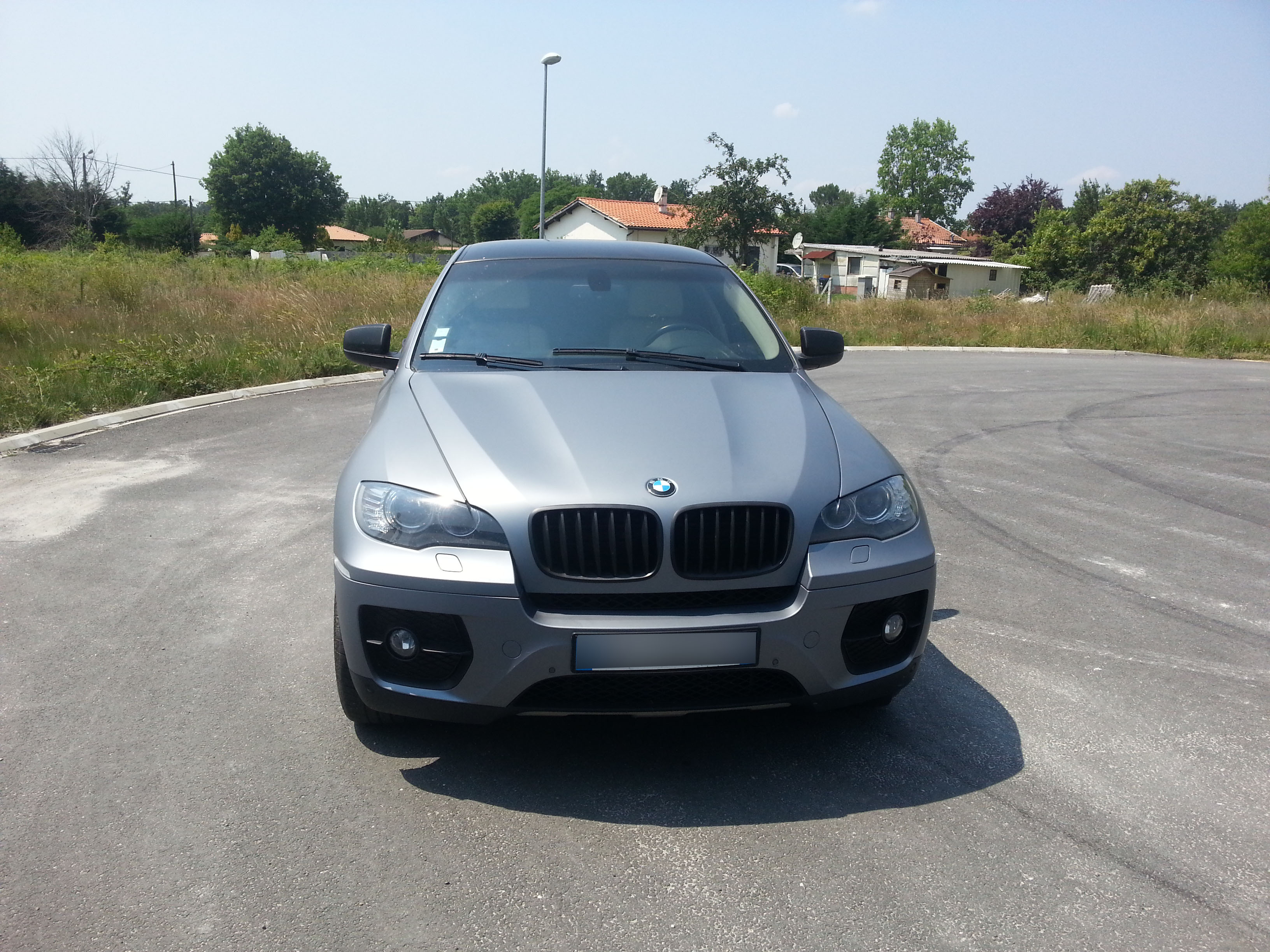 Total Covering Gris Mat Bmw X6 Poignees Carbone Covering Car