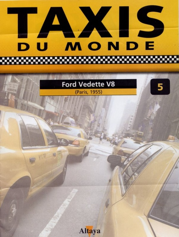 N°5 - Ford Vedette V8 - Paris (1955)