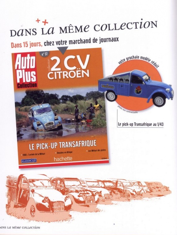 N°37 - 2CV pick-up Transafrique
