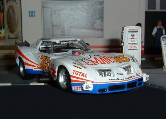 2eme - N°22 - Chevrolet Corvette Stingray (1976)