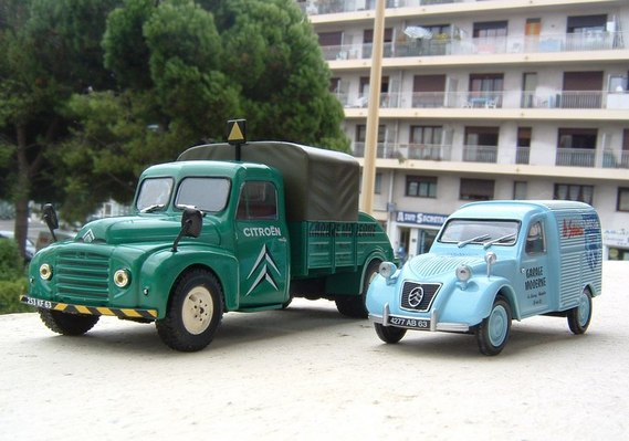 Citroen garage moderne a miniatures 1 43 airbus 06 photos club - Garage miniature citroen ...