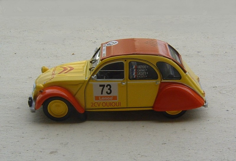Auto Plus Collection - N°75 - 2CV Racing Cup Oui-Oui