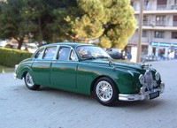 Collection Autoplus Hachette - N°83 - Jaguar Mk II - 1960