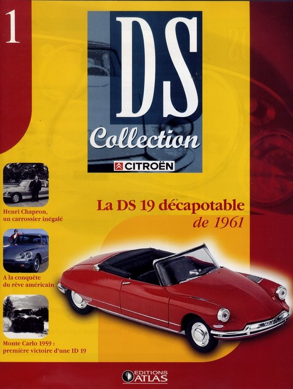 N°1 - DS 19 cabriolet - 1961 - UH