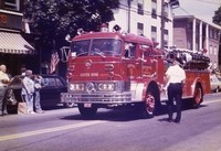 signature model 1960 mack c fire pumper g