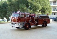 signature model 1960 mack c fire pumper a
