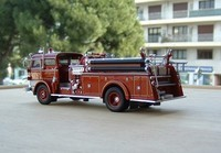 signature model 1960 mack c fire pumper b