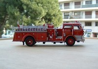 signature model 1960 mack c fire pumper c