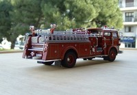 signature model 1960 mack c fire pumper d