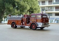 signature model 1960 mack c fire pumper e