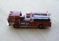 signature model 1960 mack c fire pumper f