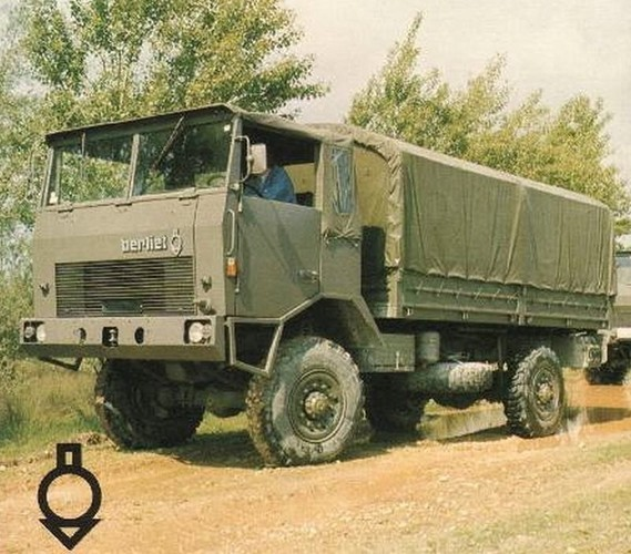 N°21- Berliet GBD 4X4 Camion tactique Militaire 1974 Img-7460055b2f