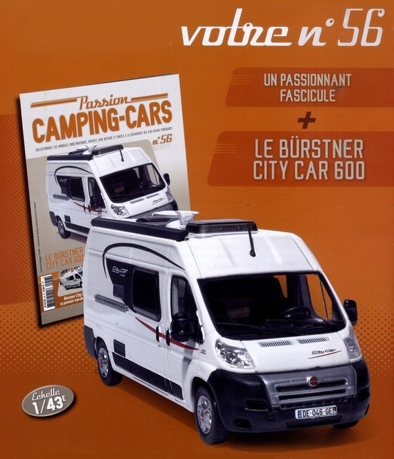 N°56 - Le Burstner City Car 600 z