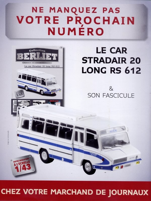 N°35 - Le car Stradair 20 long RS 612