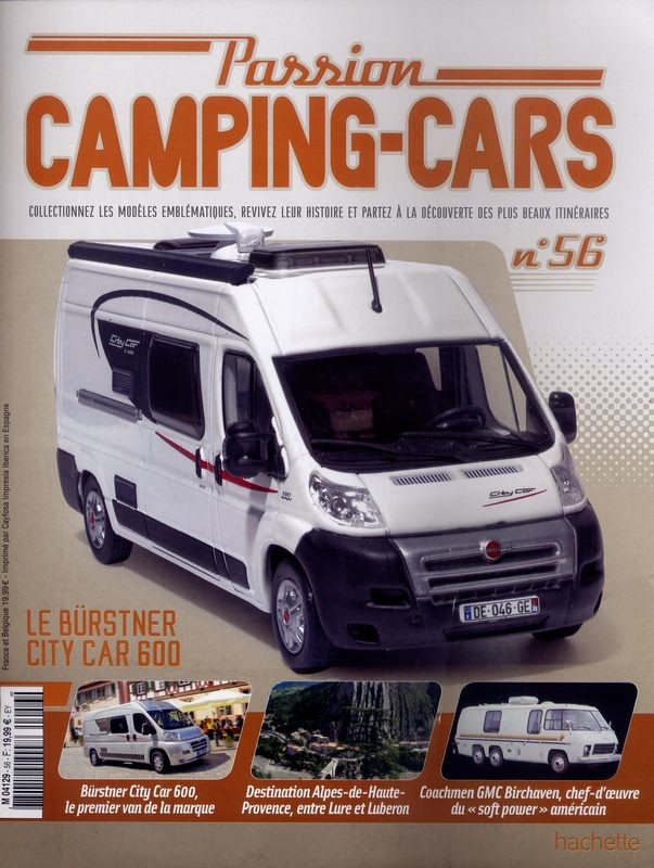 N°56 - Le Burstner City Car 600 de 2009