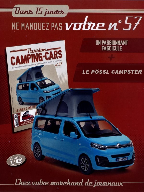 N°57 - Le Possl Campster x