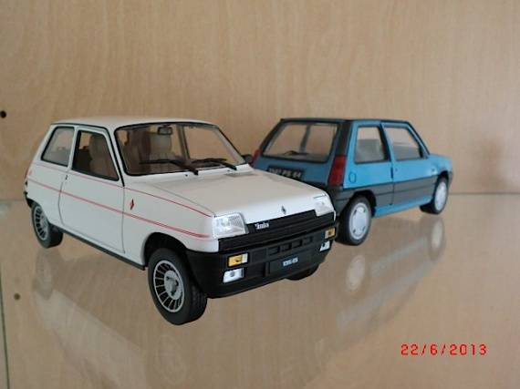Renault 5 Alpine Turbo 1:24 2