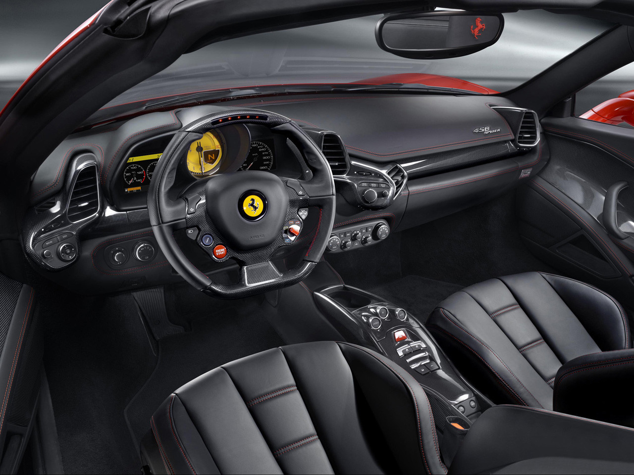 2012-Ferrari-458-Spider-Dashboard