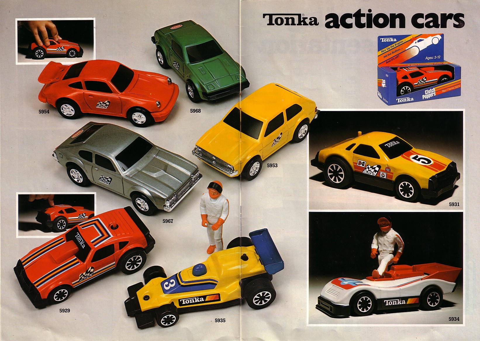 Série Tonka Action catalogue 79 fr