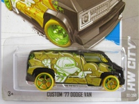 Dodge Van Custom 1977 T-Hunts