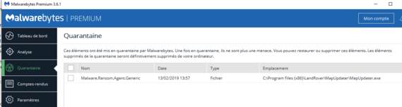 Map Updater - Ransomware